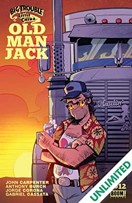 Big Trouble in Little China: Old Man Jack #12